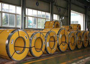 Rostfria stålspolar 304 / 304L