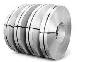 Remsa av rostfritt stål AISI 441 EN 1.4509 DIN X2CrTiNb18