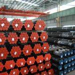 API 5L, API 5CT, ASTM A106 / A53, DIN 2391, EN10305, EN10210 Carbon Alloy Seamless stålrör