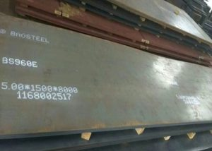 960 höghållfast stålplåt