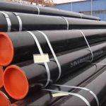GR B, X42, X46, X56, X60, X65, X70 ERW HFI EFW stålrör