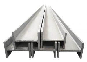 201 304 316 H-balk i rostfritt stål