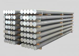 1080,2A11,3003,4A11,5754,6082,7A05 Aluminiumstång