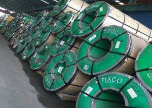 1.4401 Spolar och remsor av rostfritt stål