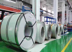 321 Rostfri stålspole 1.4541 / X6CrNiTi18-10