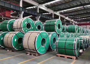 Rostfri stålspole med ASTM JIS DIN GB