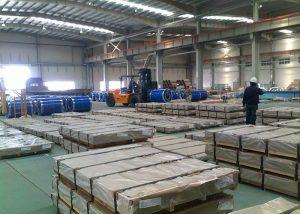 X10CrAlSi13 / 1.4724 stålplåt / plåt