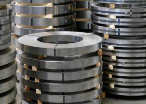 201 304 316 309 kallvalsad remsa av rostfritt stål med 2B / BA / nr 4 / HL / spegelyta